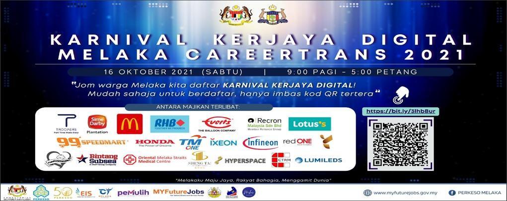 Karnival Kerjaya Digital Melaka Careertrans 2021